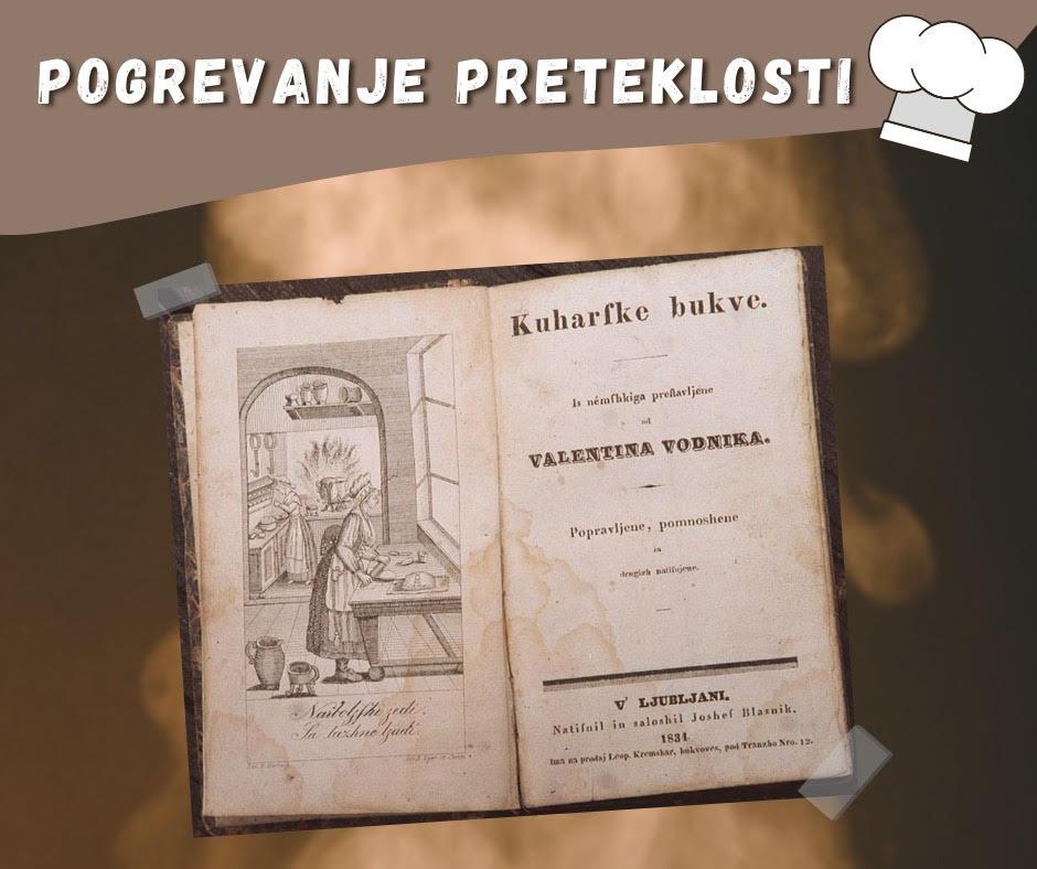 Prva slovenska kuharica Kuharske bukve
